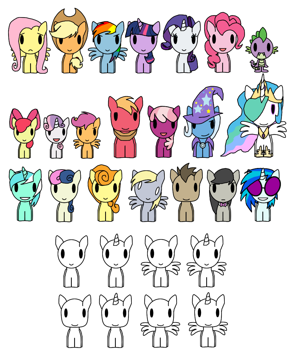 My little pony fim. Spaghetti clipart pop art
