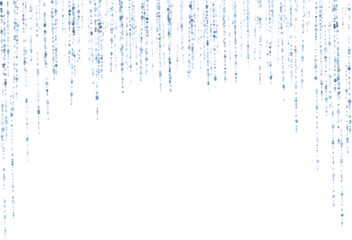 Blue glitter fall waterfall. Sparkle border png