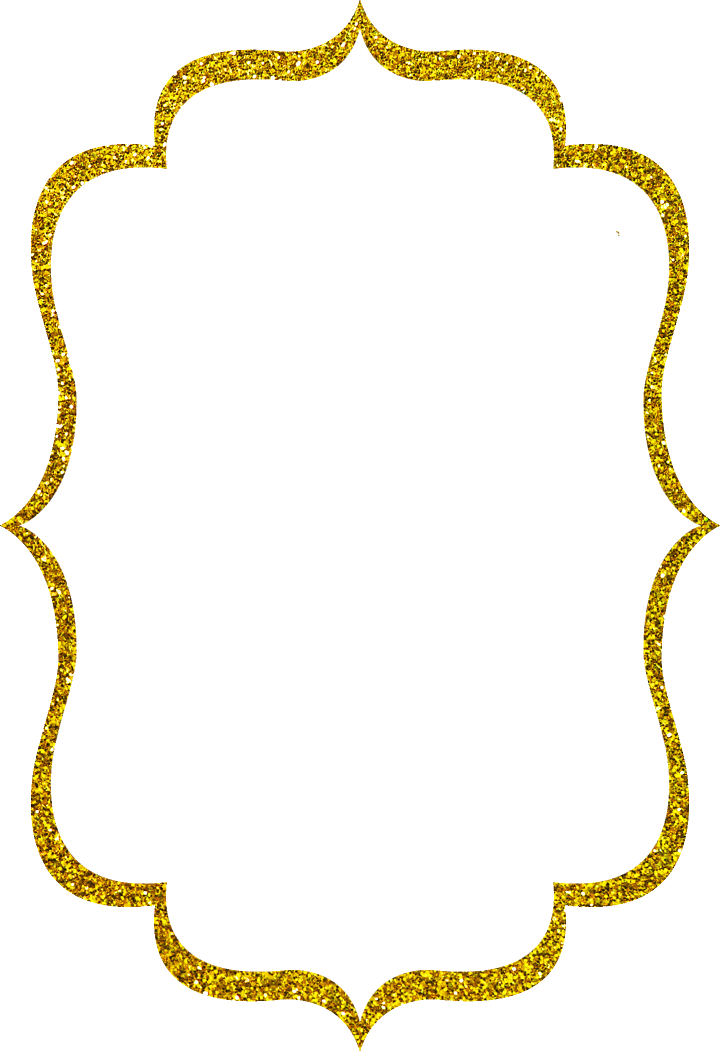 Chalk Transparent Border: 15 Gold Glitter Border Png For Free Download On WebStockReview