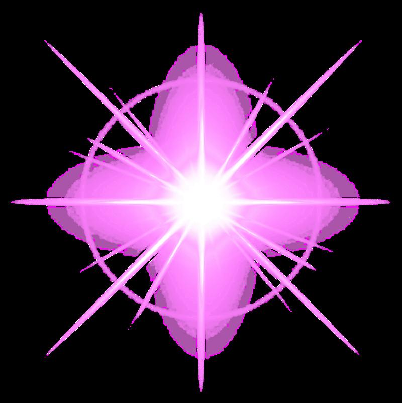 Sparkle glow