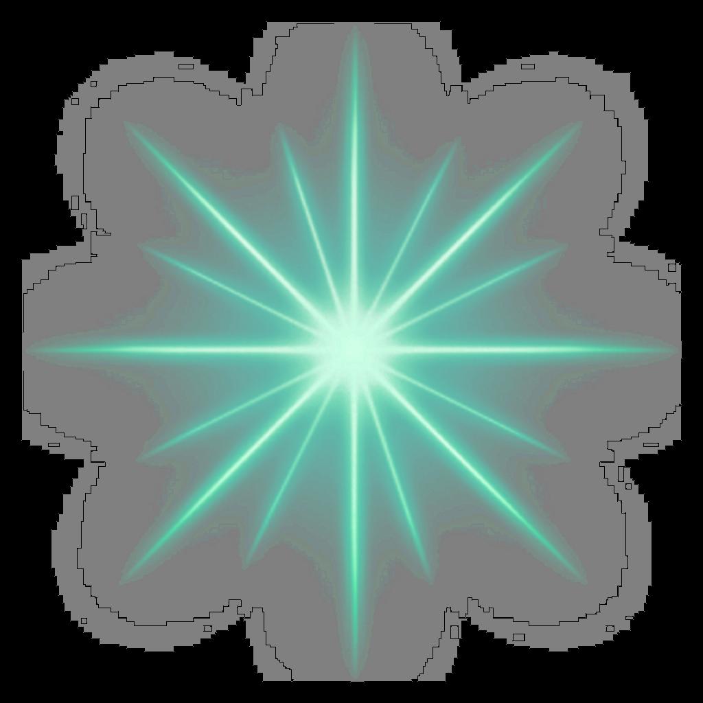 Destello star estrella twinkle. Sparkle clipart green