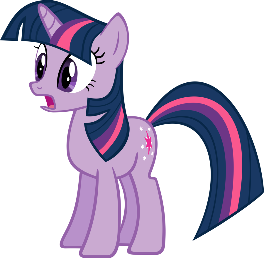 Twilight sparkle in by. Surprise clipart awe