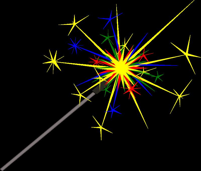 Sparkle sparkler