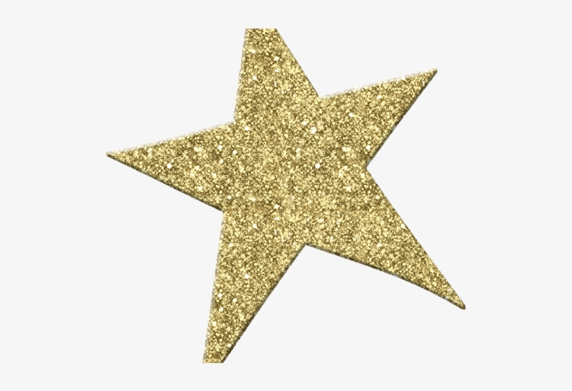 North gold glitter png. Sparkle clipart star wars star
