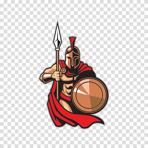 Spartan clipart ancient. Army greece transparent background