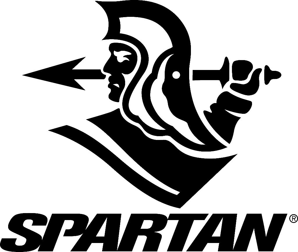 Spartan clipart logo spartan. Images of black spacehero