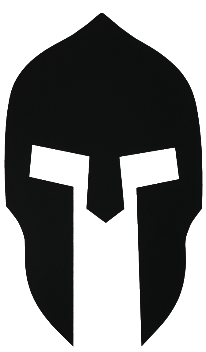 Helmet group black . Spartan clipart logo spartan