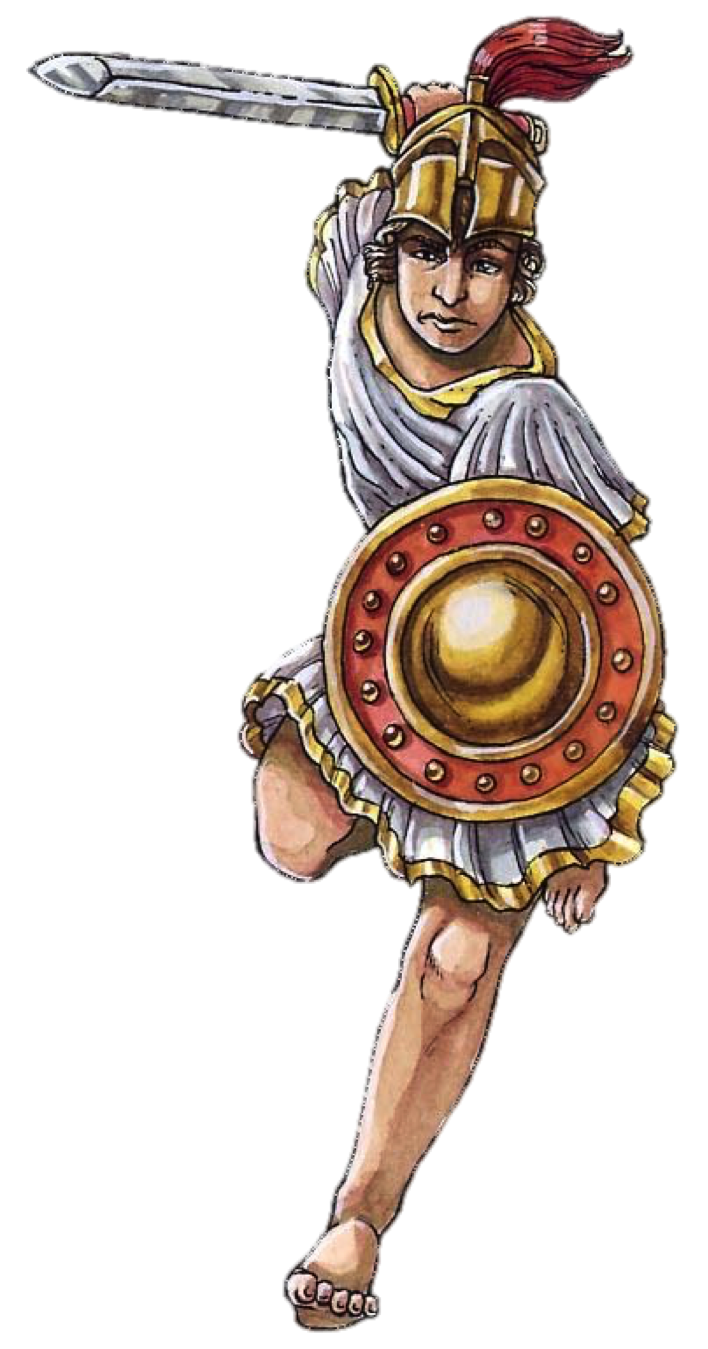 Warrior clipart soldier athenian. Athens vs sparta on