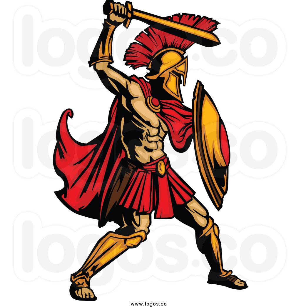 Warrior clipart warrior greek. Gladiator free download best