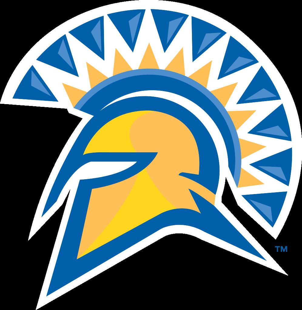 Spartan clipart warrior logo. San jose state football