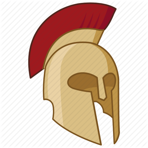 Arms and armor color. Spartan helmet png