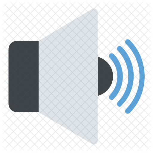 Sign symbol icons in. Speaker icon png
