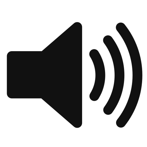 Speaker icon png. File svg wikimedia commons