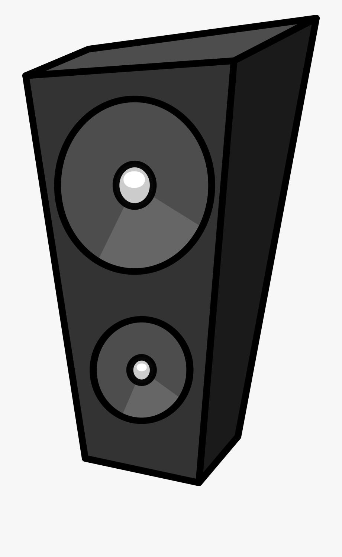 Speakers clipart. Transparent background speaker