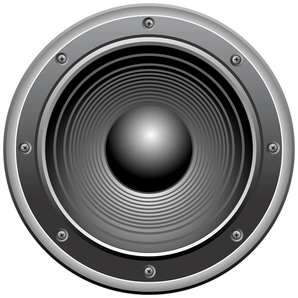 Speaker transparent clip art. Speakers clipart