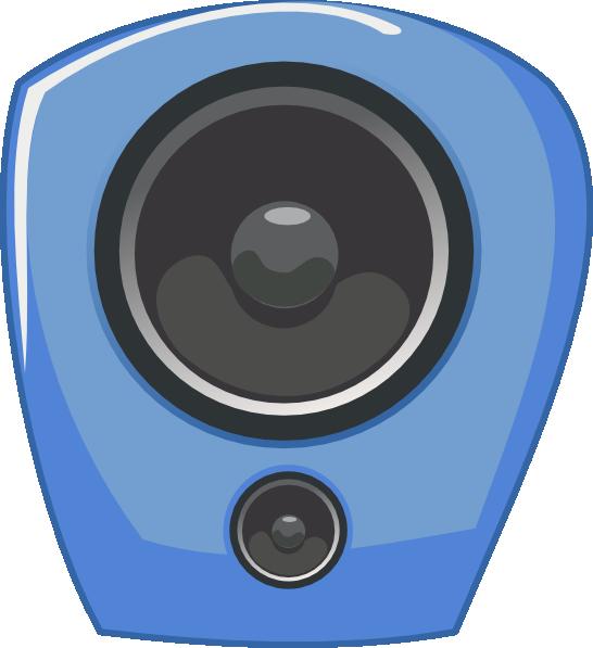 Speakers clipart comic. Loudspeaker in style clip