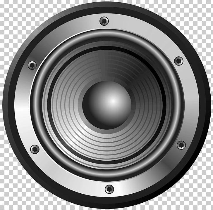 Subwoofer sound computer loudspeaker. Speakers clipart woofer