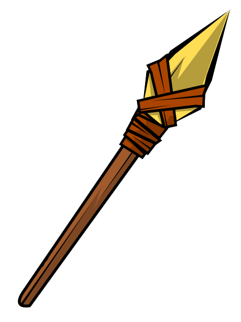Hunting clipart animated. Free spear cliparts download