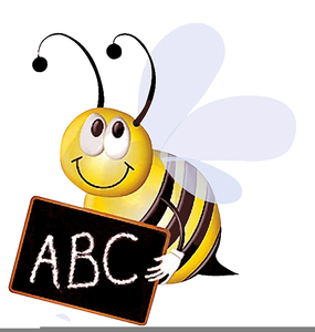 Animated bee free images. Spelling clipart