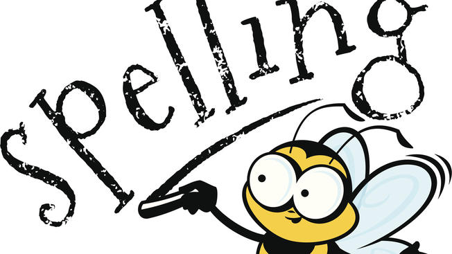 Spelling clipart cool. Kansas city area bee