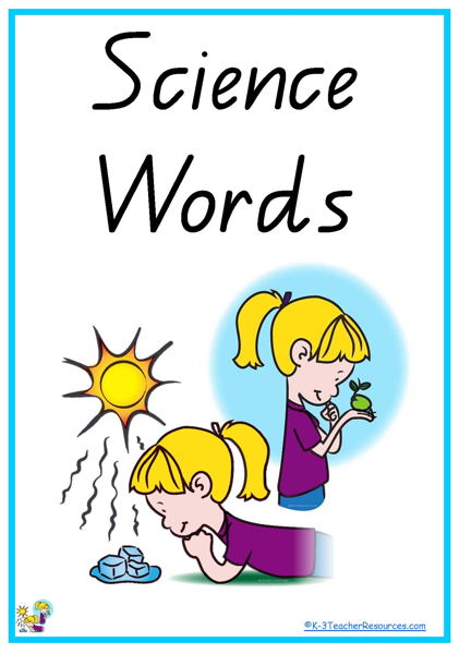 Vocab free download best. Words clipart science