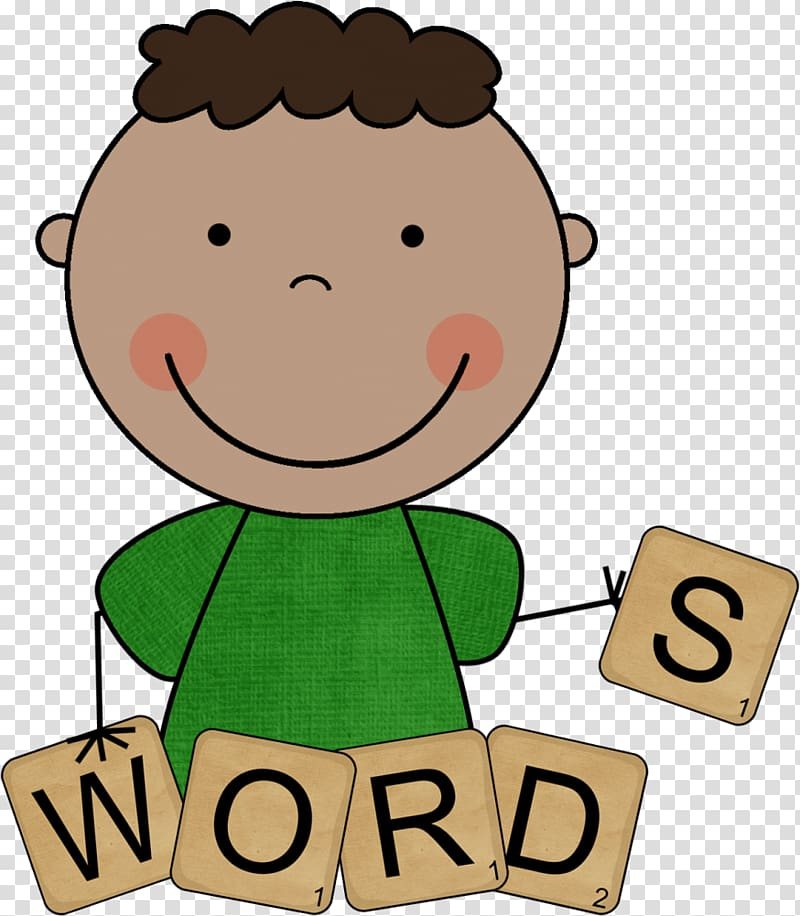 Words clipart transparent. Sight word spelling microsoft