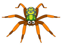 Free clip art pictures. Spider clipart
