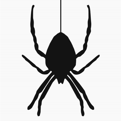Spider clipart dangling. Hanging station