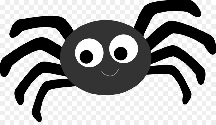 Cartoon font . Spider clipart illustration