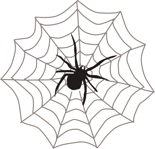 With web clip art. Spider clipart invertebrate animal