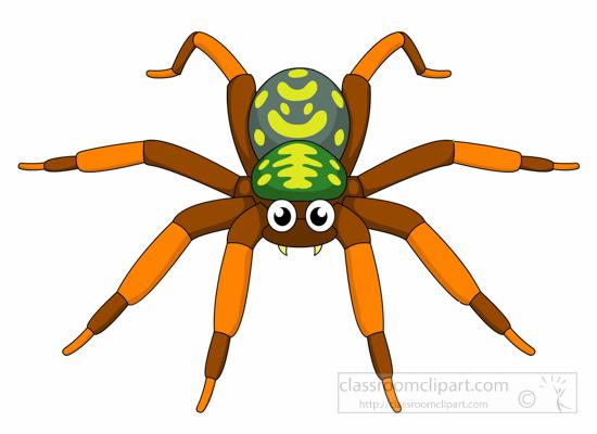 Spider clipart invertebrate animal. Free clip art pictures