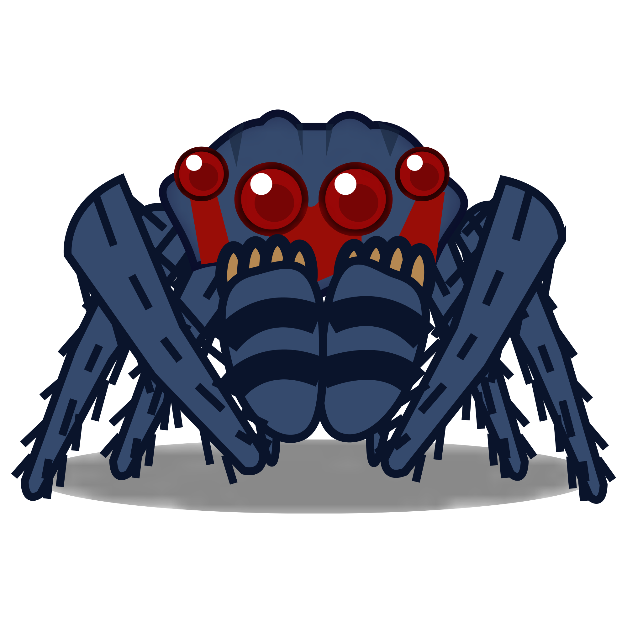 Spider clipart jumping spider. File peo red svg