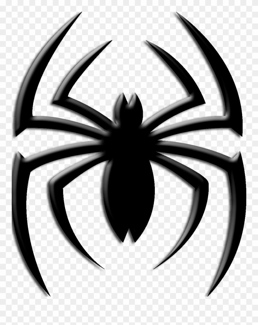 Chest logo png clip. Spider clipart spiderman spider