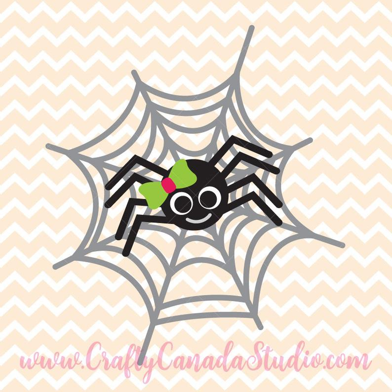 Spider clipart svg. Print and cut png