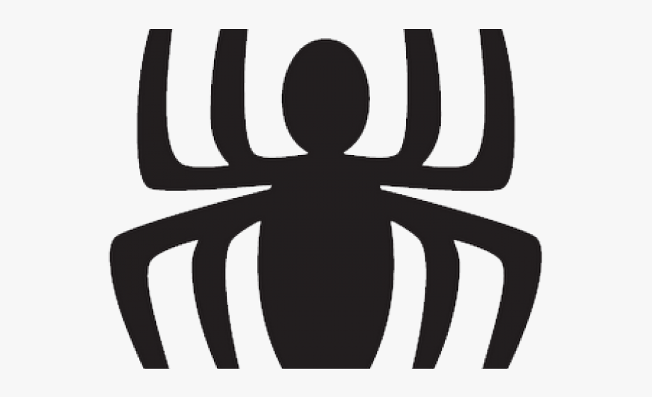 Spider clipart symbol. Web logo batman man