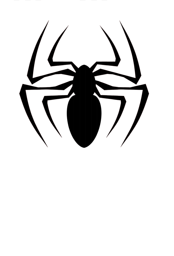 collection of black. Spider clipart symbol
