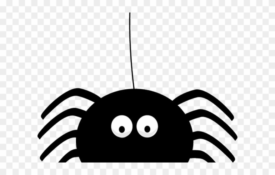 Halloween cute . Spider clipart transparent background