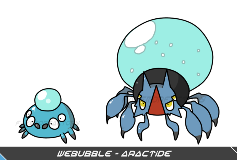 Pokemon by harikenn on. Spider clipart water spider