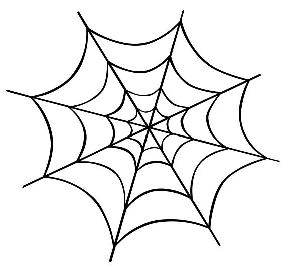 Spider web clip art. Spiderweb clipart halloween