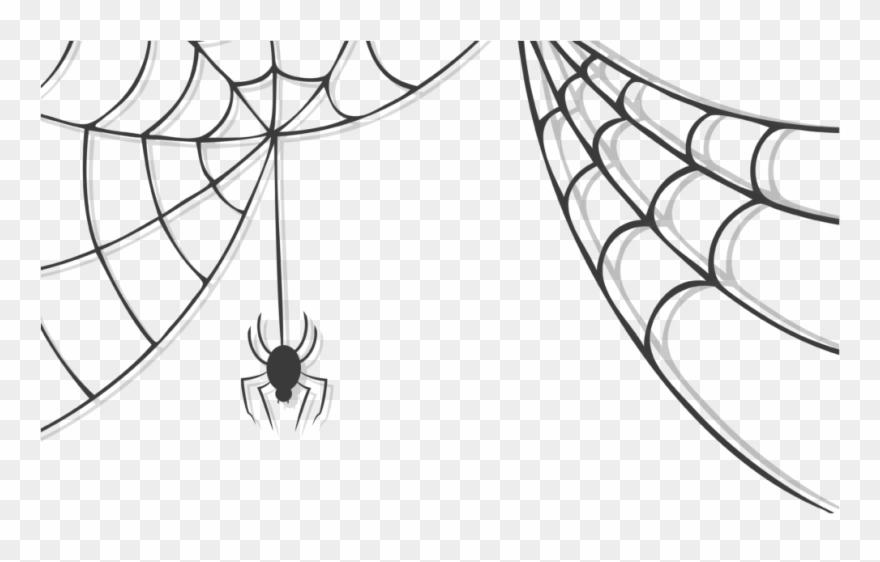 Spiderweb clipart halloween. Transparent cobwebs spider web