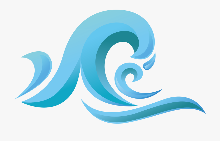 Wind material picture transprent. Waves clipart splash