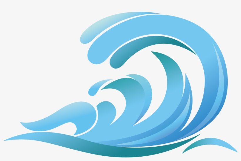 Graphic drop clip art. Waves clipart royalty free