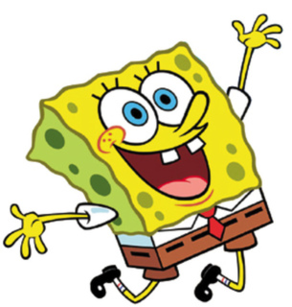 Spongebob clipart. Image clip art di