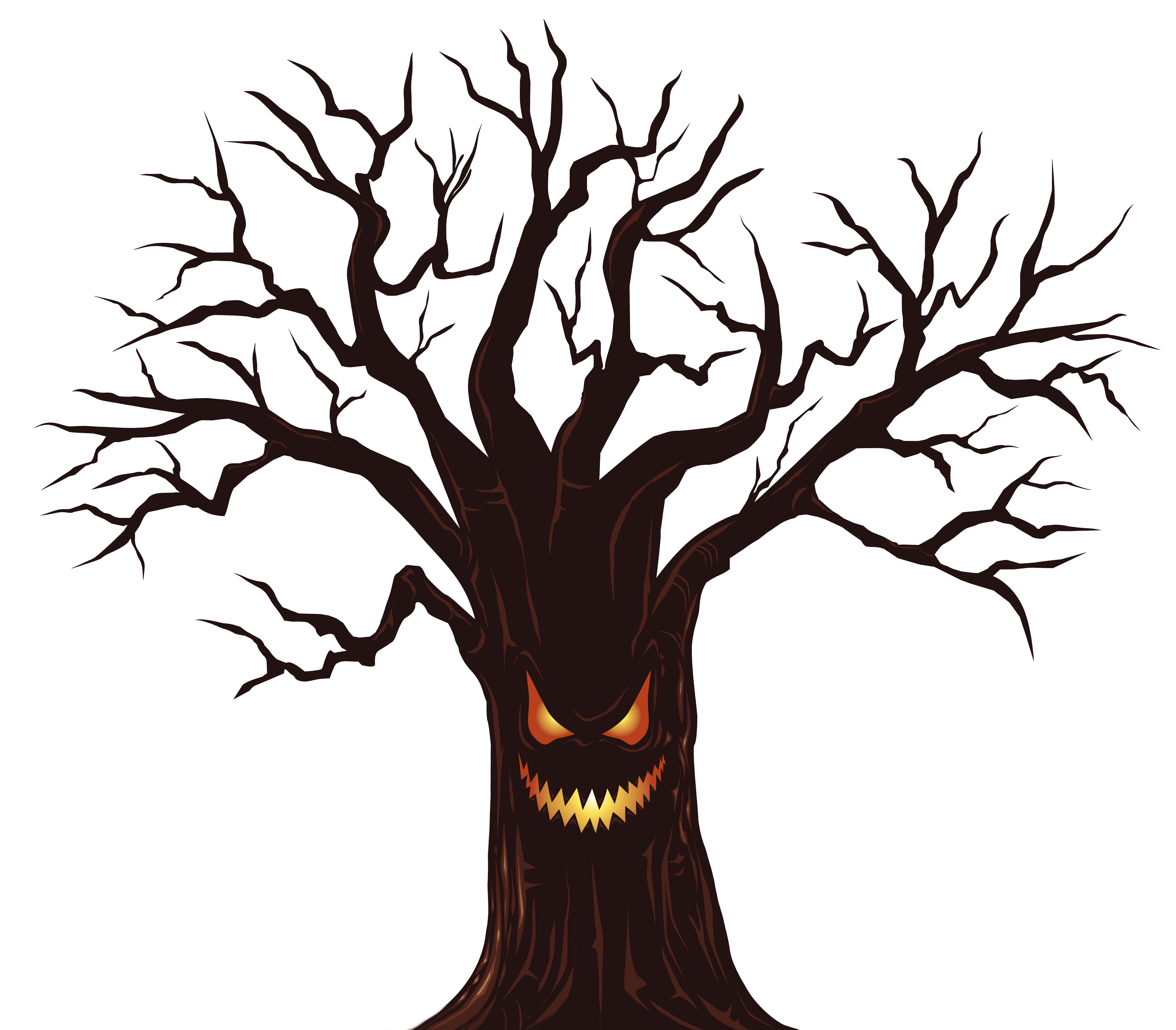 Tree png image gallery. Clipart halloween spooky