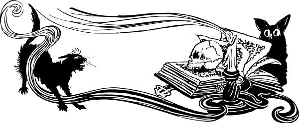 Scene clip art free. Spooky clipart