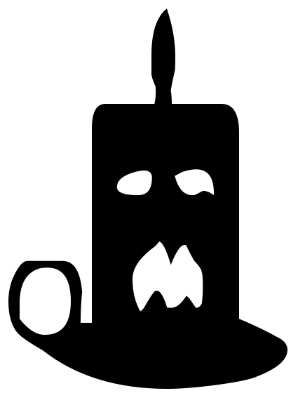 Holiday halloween assorted . Spooky clipart candle