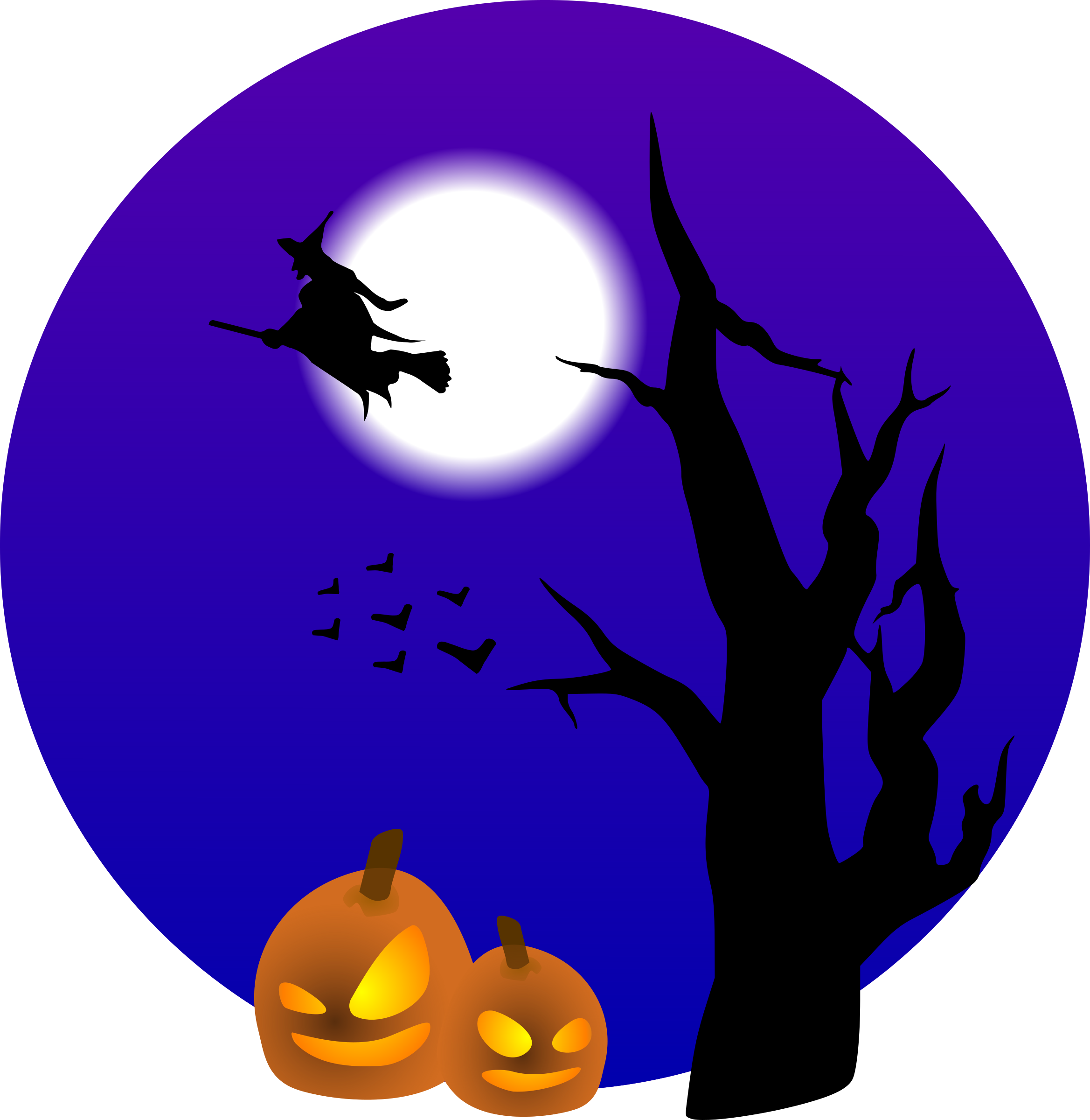 Halloween stickers boo by. Spooky clipart sticker