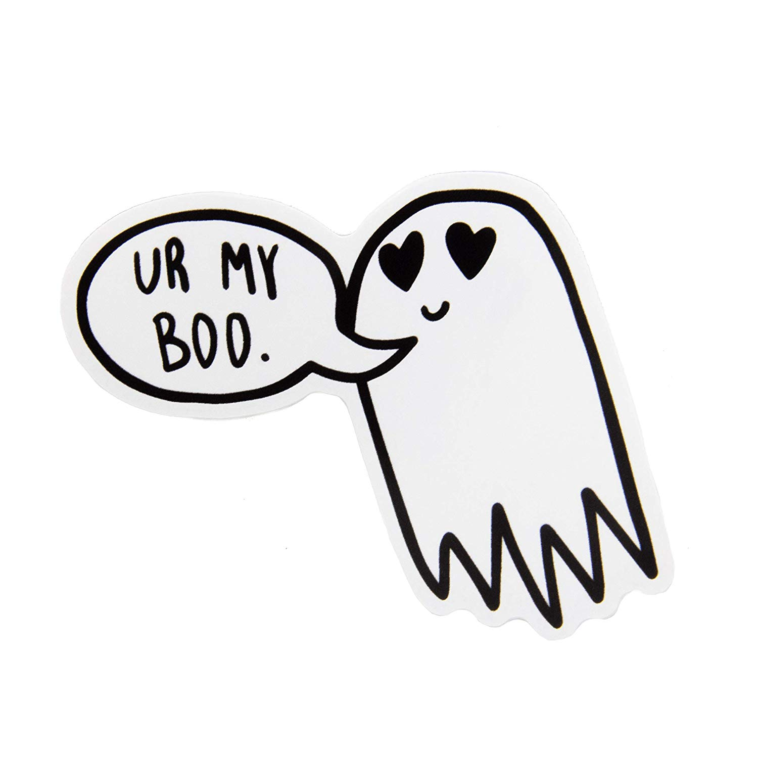 Spooky clipart sticker. Ectogasm ur my boo