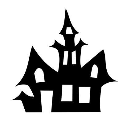 Amazon com haunted house. Spooky clipart sticker