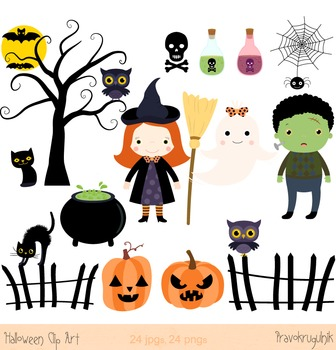 Halloween clip art ghost. Witch clipart spooky witch